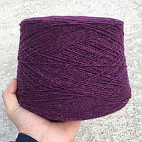 Пряжа Tweed350, сирень сочная (80% меринос, 20% ПА; 350 м/100 г)