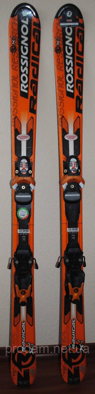Детские горные лыжи Rossignol Radical, длинна 120 см.