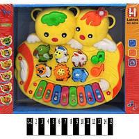 Піаніно-звірі Ведмедики, озвучене (коробка) 5018 р. 25*20*6,5 см