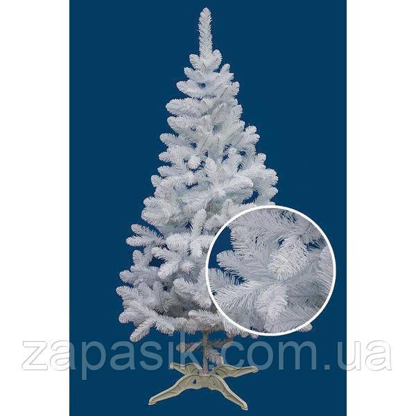 Искусственная Ель Белая 250 см Лесная Елка Новогодняя 2,5 метра