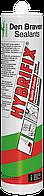 Герметик полимерный <серый> 290 мл Den Braven HYBRIFIX