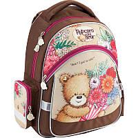 Рюкзак школьный 521 Popcorn Bear  PO18-521S