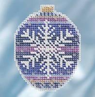 Набор для вышивки бисером Royal Snowflake Mill Hill