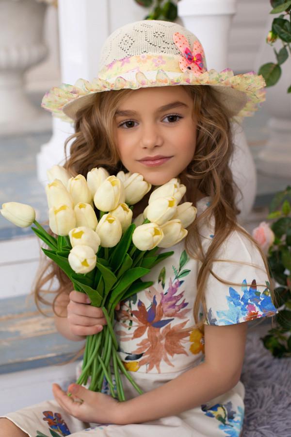 Детская шляпа «Сьюзи» (бежевый)