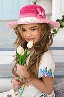 Детская шляпа «Сьюзи» (малиновый)