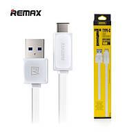 Кабель Remax Fast Type-C 1m White (RT-C1), фото 1