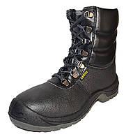 Напівчоботи берці зимові з металевим носком cemto komfort 9012