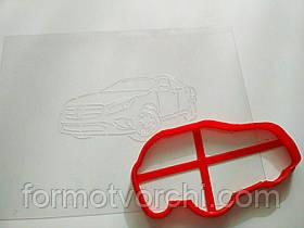 """3D формочки-вырубки для пряников """"Машина 4"""""""