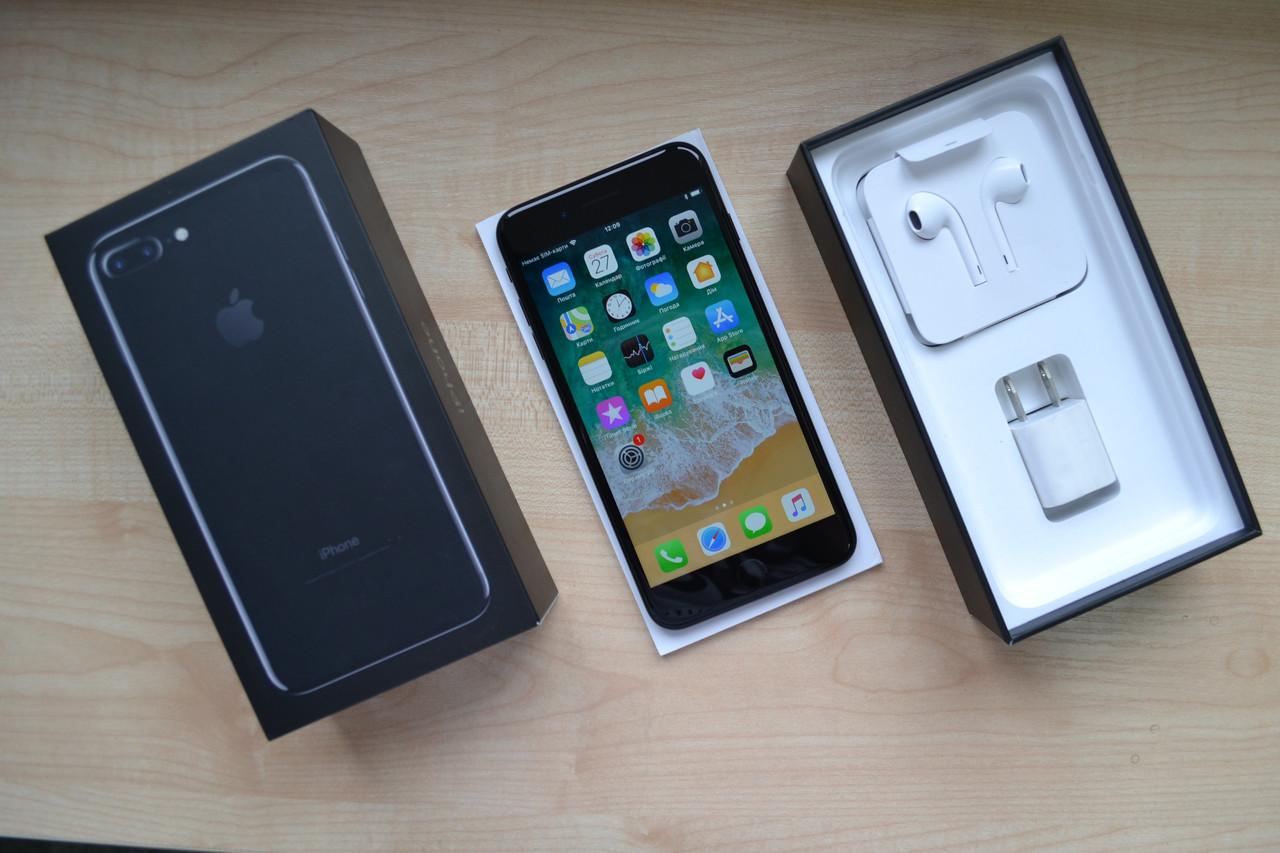 Apple Iphone 7 Plus32Gb Jet Black NeverlockОригинал!