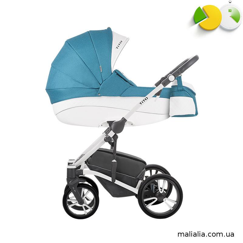 Детская коляска 2 в 1 Bebetto TITO