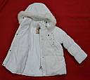 Куртка зимняя для девочки белая (QuadriFoglio, Польша), фото 4