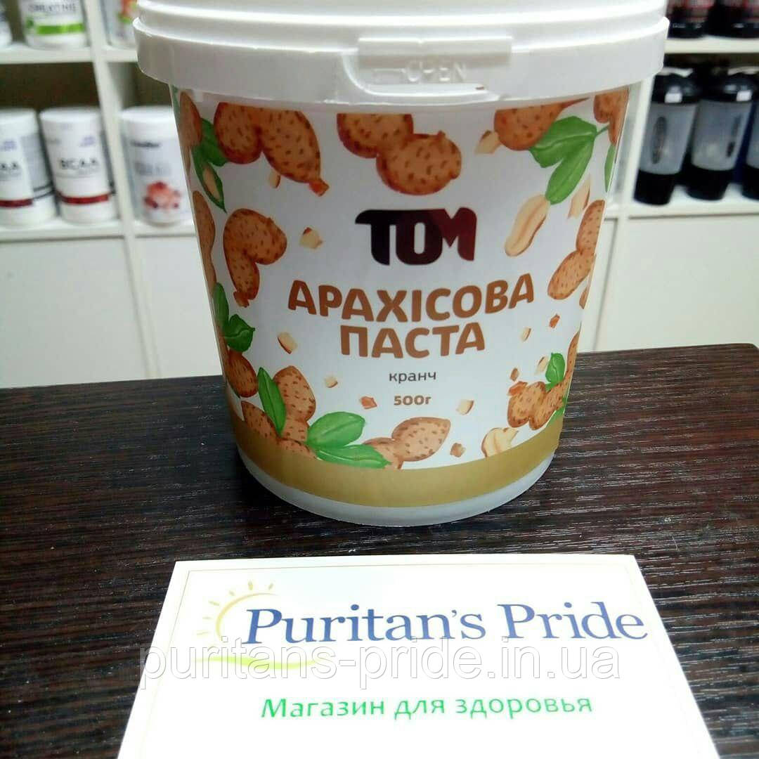TOM peanut butter  500г Арахисовое Паста Кранч 500г