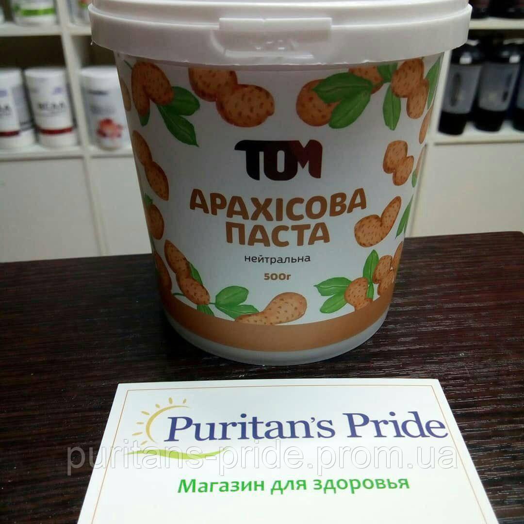 TOM peanut butter Арахісова Паста Нейтральна 500г
