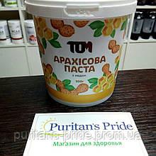 ТОМУ Арахісова паста з натуральним медом 500 г