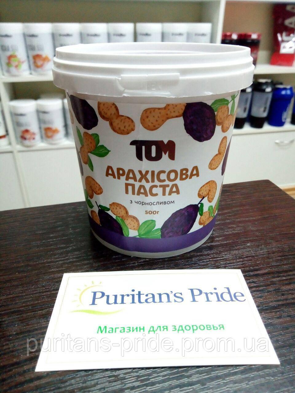 ТОМ Арахисовая паста с черносливом 500 г