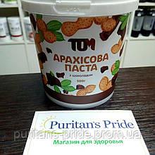 ТОМ Арахисовая паста с шоколадом 500г