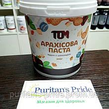 Арахисовая паста ТОМ 500 грамм  кранч с шоколадом
