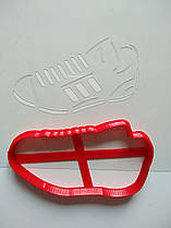 """3D формочки-вырубки для пряников """"Кроссовок"""""""