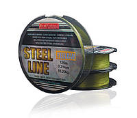 Шнур Рыболовный 125 м. BratFishing STEEL LINE - YELLOW