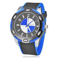 Спортивные наручные часы WoMaGe BMW синего цвета