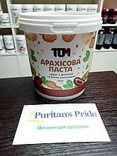 Арахисовая паста ТОМ 500 грамм с фініками, кокосовою олією і ваніллю