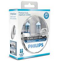 Philips WhiteVision (эффект ксенонового света) - Лампочки автомобильные H1