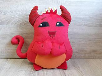 Мягкая игрушка - подушка  демон стикер Забавные импы из Телеграм