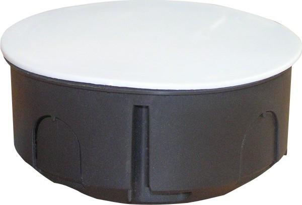 Коробка распределительная  с крышкой    (d 70)    50  шт/уп