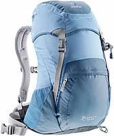Женский рюкзак 20 л. для недолгих походов, треккинга DEUTER ZUGSPITZE 20 SL, 34500 3311 голубой
