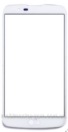 Стекло LG корпусное белое, фото 2