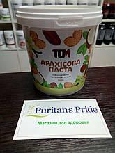Арахисовая паста ТОМ 500 грамм с фиником и кокосовым маслом и ванилью