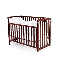 Детская кроватка Верес Соня ЛД-13 Орех д/спица 13.1.1.20.03