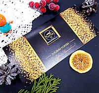 Открытка новогодняя корпоративная с шоколадом и логотипом 017