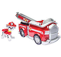 Nickelodeon Paw Patrol Щенячий патруль Маршалл с пожарной машиной со звуковыми эффектами