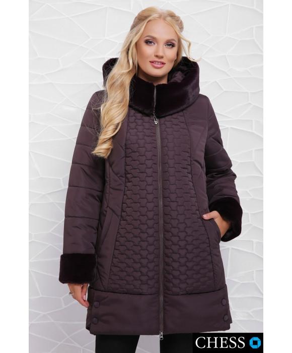 Жіноча зимова куртка Ніно , розмір 50-58