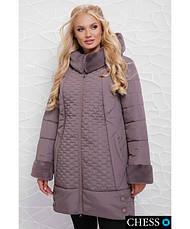 Жіноча зимова куртка Ніно , розмір 50-58, фото 3