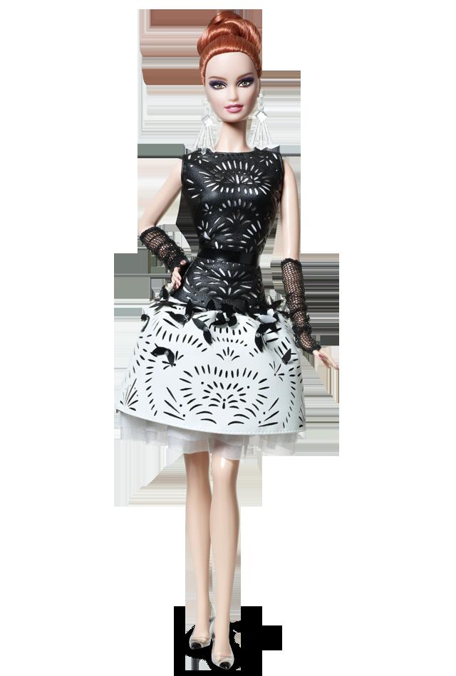 Колекційна лялька Барбі плаття лазерна шкіра / Laser-Leatherette Barbie Doll Dress