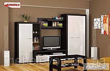 Гостиная  Неон 2 2180х3400х605мм    Мебель-Сервис, фото 3