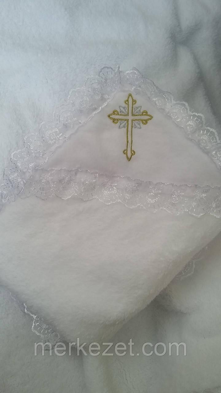 Крыжма. Крыжма теплая «Пиония». Крещение ребенка - крыжма