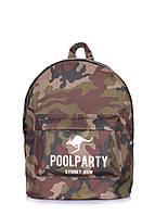 Камуфляжный рюкзак POOLPARTY, фото 1