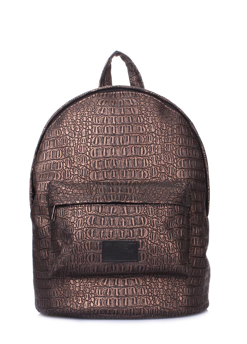 Рюкзак POOLPARTY с тиснением под крокодила