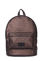 Рюкзак POOLPARTY с тиснением под крокодила, фото 1