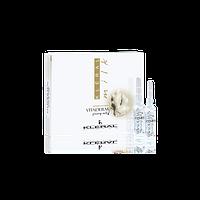 Ампулы против выпадения волос с экстрактом женьшеня, Kleral System Milk Vitadermin, 7х8 мл