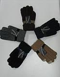 Перчатки мужские ХМН  шерсть смартфон, фото 2