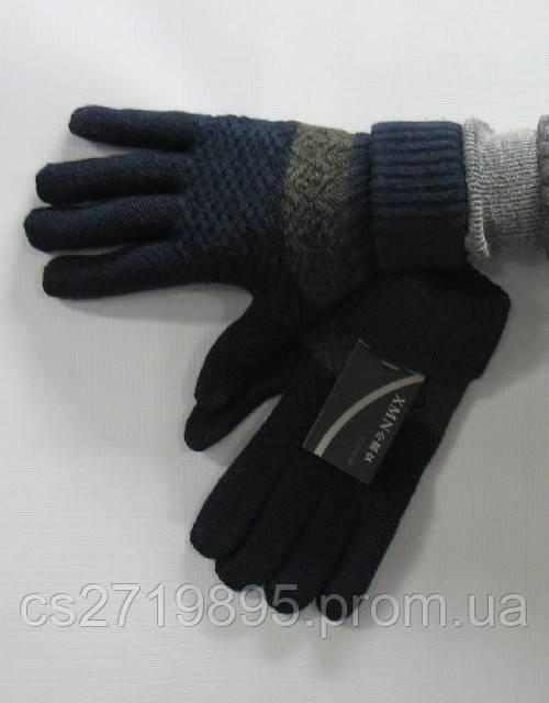 Перчатки мужские ХМН  шерсть смартфон