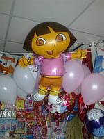 Фольгированные шары фигурные большие,наполненные гелием