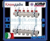 Icma Коллектор с расходомерами 9