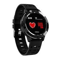 Фитнес-браслет CF58, черный,цветной экран 1,3 дюйма ,пульсомер,тонометр