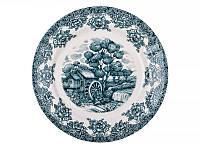 Набор из 6 обеденных тарелок Изумрудная мельница 27 см, керамика 910-136-6
