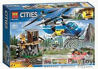 """Конструктор Bela """"CitIes""""(10863) Погоня в горах, 325 деталей - Аналог Lego City (Лего Сити) 60173"""